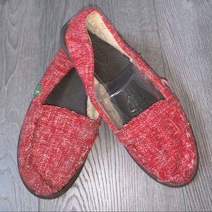 Sanuk Tweed Slip on Shoes